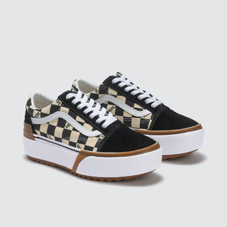 VANS - VANS ☆ Old Skool Stacked Checkerboard
