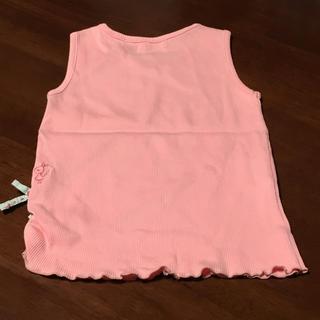 ニットプランナー(KP)のKP ニットプランナー ノースリーブ 110cm みみちゃんの刺繍が可愛い♪(Tシャツ/カットソー)