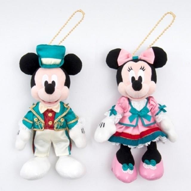 ミッキーマウス(ミッキーマウス)のディズニーランドホテル 限定 エクスクルーシブ ぬいぐるみバッジ付 トートバッグ レディースのバッグ(トートバッグ)の商品写真