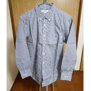 UNIQLO - ユニクロ エクストラファインコットンブロードチェックシャツ Sサイズ