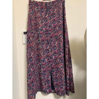 ナチュラルビューティーベーシック(NATURAL BEAUTY BASIC)のナチュラルビューティーベーシック 今季花柄スカート(ロングスカート)