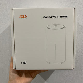 エーユー(au)のSpeed Wi-Fi HOME L02(PC周辺機器)