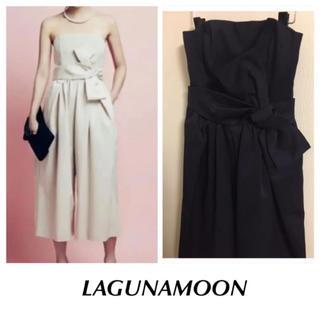 LagunaMoon - 美品【LAGUNAMOON】パーティードレス ガウチョ オールインワン