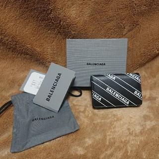 Balenciaga - BALENCIAGA バレンシアガ 新品 本物 ミニ財布 折財布 ブラック