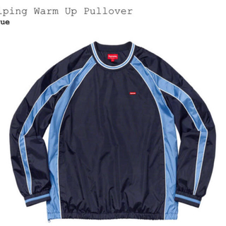 Supreme - supreme シュプリーム piping Warm Up pullove M