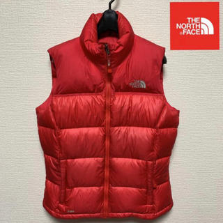 THE NORTH FACE - 美品 希少レッド! THE NORTH FACE ヌプシ ダウンベスト 700
