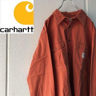 Carhartt FR ワンポイントロゴ ワークシャツ