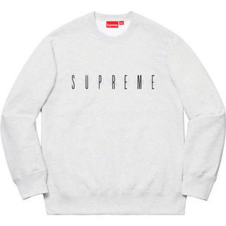 Supreme - Supreme 19AW Fuck You Crewneck Ash Grey