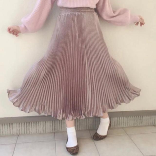 Lochie(ロキエ)のグリッターロングスカート レディースのスカート(ロングスカート)の商品写真