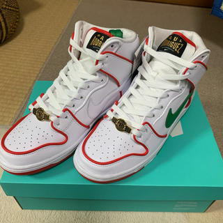 ナイキ(NIKE)のPAUL RODRIGUEZ × NIKE SB DUNK HIGH QS 27(スニーカー)
