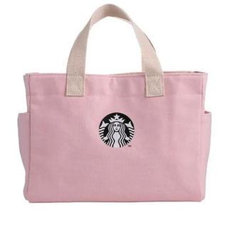 Starbucks Coffee - 台湾 スターバックス バレンタイン ピンク トート