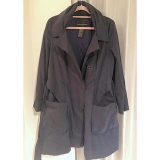 ダブルスタンダードクロージング(DOUBLE STANDARD CLOTHING)のダブスタ トレンチコート ネイビー コート(トレンチコート)