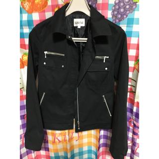 アルファキュービック(ALPHA CUBIC)のカッコイイ ジャケット 黒 エーシー デザイン バイアルファキュービック 都会派(テーラードジャケット)