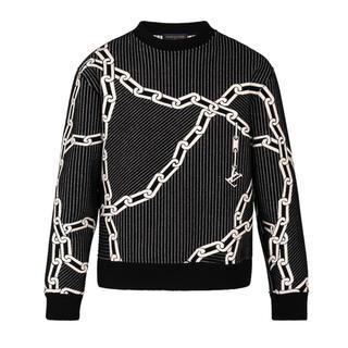 LOUIS VUITTON - ルイヴィトン キルテッド3Dエフェクトチェーンスウェットシャツ