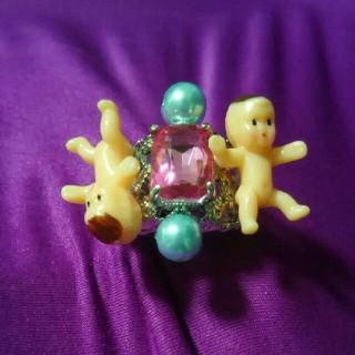 赤ちゃんの指輪 個性的(リング(指輪))