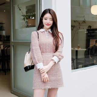 Attrangs ツイード セット / 韓国洋服 韓国ファッション(その他)
