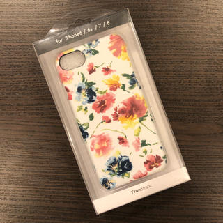 Francfranc - 【新品・未使用】フランフラン iPhoneケース 花 フラワー①