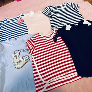 Branshes - ブランシェス branshes★半袖Tシャツ 6点セット★130