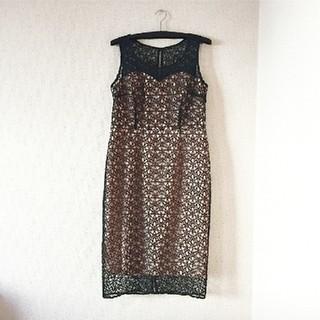 セルフポートレイト(SELF PORTRAIT)の定価6万♡未使用 Elegance  高級ドレス(ミディアムドレス)