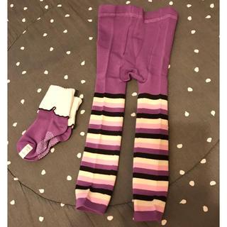 フェリシモ(FELISSIMO)のフェリシモ レギンススパッツ 靴下セット 新品未使用(パンツ/スパッツ)