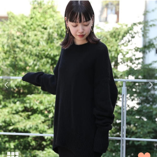 TOMORROWLAND - 【新品*未使用】GALERIE VIE ファインウール クルーネックプルオーバー
