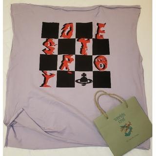 ヴィヴィアンウエストウッド(Vivienne Westwood)の新品destroyスクエアTシャツworlds endヴィヴィアンウエストウッド(Tシャツ(半袖/袖なし))