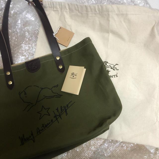 IL BISONTE(イルビゾンテ)のイルビゾンテ トートバッグ メンズのバッグ(トートバッグ)の商品写真