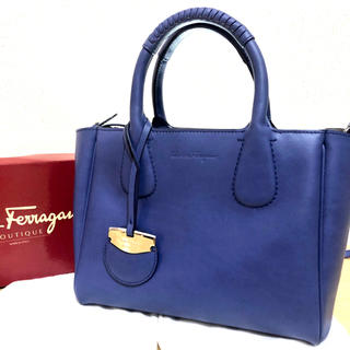 Salvatore Ferragamo - 【Ferragamo】サルヴァトーレフェラガモ ノリータ 2WAYバッグ
