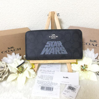 COACH - STAR WARS COACH 長財布 ジップ アラウンド シグネチャー