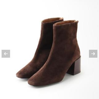 アパルトモンドゥーズィエムクラス(L'Appartement DEUXIEME CLASSE)のアパルトモン FLATTEREDフラッタードSuede Short Boots(ブーツ)