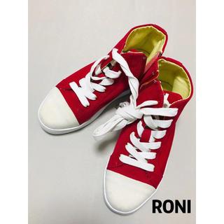 RONI - ロニ RONI スニーカー 新品 赤 18