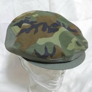 カシラ(CA4LA)の迷彩 ウッドランドカモフラージュ ハンチング 未使用品 (ハンチング/ベレー帽)