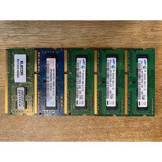 サムスン(SAMSUNG)のDDR3-1333 SODIMM 2GBx5=10GB PC3-10600(PCパーツ)