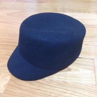 エイチアンドエム(H&M)のフェルト素材 アーミー帽(その他)