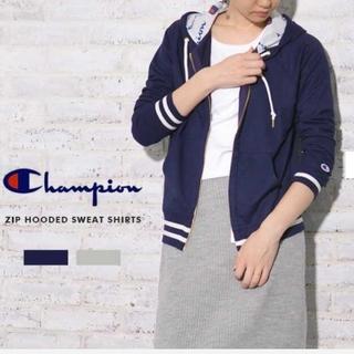 Champion - 新品 M Champion チャンピオン パーカー ジップフーデット スウェット