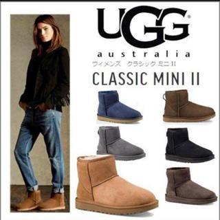UGG - 最新UGG クラシック ミニ2 BLACK 25cm 新品