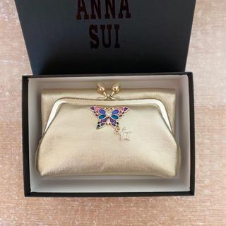 アナスイ(ANNA SUI)のANNA SUI クリアバタフライ 財布 がま口(財布)
