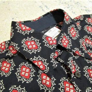 アニエスベー(agnes b.)のアニエスb オム 総柄デザインシャツ フランス製(シャツ)