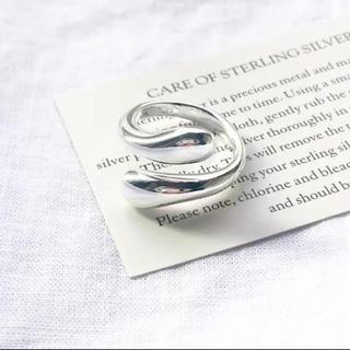 Ameri VINTAGE - 大人気なため再入荷!tear drop ring silver925