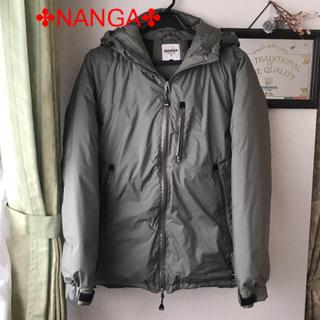 ナンガ(NANGA)の美品☆NANGA☆ダウンジャケット メンズL(ダウンジャケット)