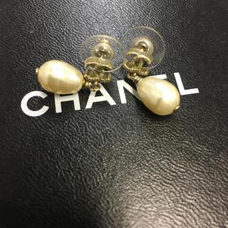 CHANEL - ヴィンテージ CHANEL ピアス 鑑定済み 正規品