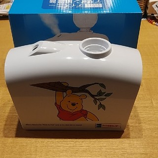 ディズニー(Disney)のコンパクト加湿器 プーさん柄(加湿器/除湿機)