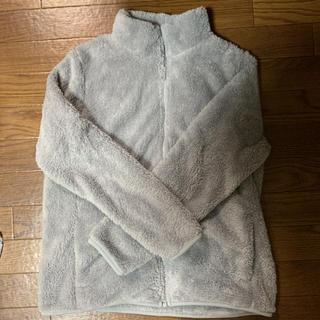 UNIQLO - UNIQLOファーリーフリースフルジップジャケット XL