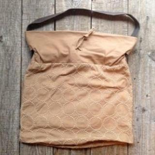 ミナペルホネン(mina perhonen)のミナペルホネン 巾着ショルダーバッグ タンバリン(ショルダーバッグ)