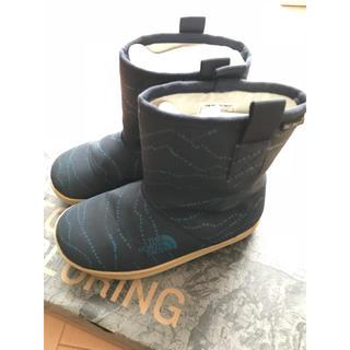 ザノースフェイス(THE NORTH FACE)のキッズ ノースフェイス ブーツ 長靴 ネイビー 17.0(長靴/レインシューズ)