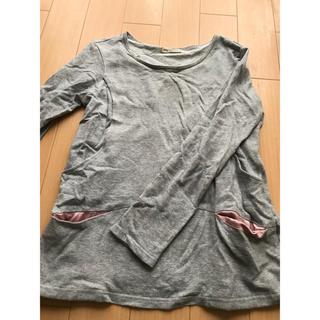 Mo-House - モーハウス 授乳服 スウェット素材 ポケット付