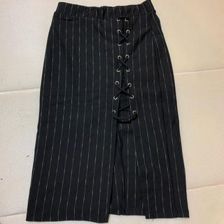 ベルシュカ(Bershka)のベルシュカ♡ネオンボーダータイトスカート(ひざ丈スカート)