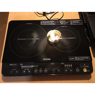 アイリスオーヤマ(アイリスオーヤマ)のアイリスオーヤマ IH 2口コンロ(調理機器)