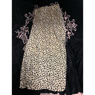 GRL - レオパード スカート