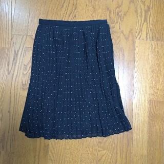 ユニクロ プリーツスカート(ひざ丈スカート)